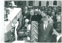 Lancio del trattore SAME Centauro a Siena