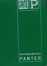 Trattore modello PANTHER - Catalogo Parti di Ricambio / Catalogue de pièces de rechange / Spare parts catalogue / Ersatzteilliste / Lista de repuestos