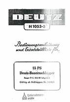 F1L 514/50 - Bedienungsanleitung und Ersatzteilliste