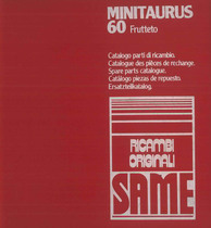 MINITAURUS 60 FRUTTETO - Catalogo Parti di Ricambio / Catalogue de pièces de rechange / Spare parts catalogue / Ersatzteilliste / Lista de repuestos / Catálogo peças originais