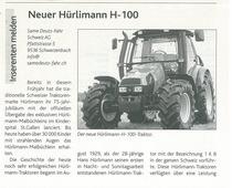 Neuer Hurlimann H 100