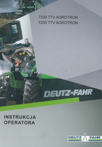 7230 TTV AGROTRON - 7250 TTV AGROTRON - Instrukcja operatora