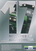 17 Novelties at Agritechnica