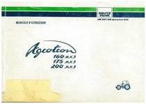 AGROTRON MK3 160-175-200 - Libretto Uso & Manutenzione