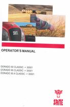 DORADO 80 CLASSIC ->30001 - DORADO 90 CLASSIC ->30001 - DORADO 90.4 CLASSIC ->30001 - Operator's manual