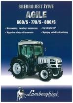 AGILE 660 SV - 770 S - 880 S