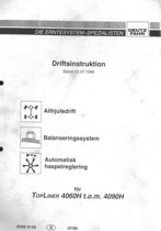 TOPLINER 4060H t.o.m 4090H - Driftsinstruktion