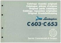C 603 - C 653 - Catalogo Parti di Ricambio / Pièces de Rechange du Tracteur / Tractor Spare Parts / Ersatzteile für den Schleppers / Repuestos para Tractor