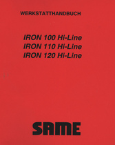 IRON 100 HI-LINE - IRON 110 HI-LINE - IRON 120 HI-LINE - Werkstatthandbuch