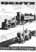 [Deutz] catalogo pubblicitario relativo ai trattori F2M 315 e F2M 317