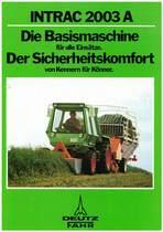 INTRAC 2003 A DIE BASISMASCHINE FÜR ALLE EINSÄTZE