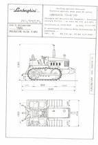 Atto di omologazione della trattrice Lamborghini 774-80 CHD