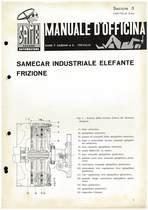 SAMECAR ELEFANTE - Manuale di officina