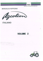 AGROTRON Volume 2 - Manuale d'officina