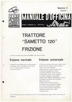SAMETTO 120 - Manuale di officina