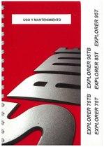 EXPLORER 75/85/95 T e TB - Uso y manutencion