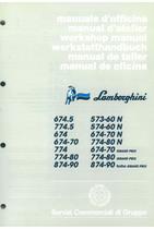 674.5 - 774.5 - 674 - 674.70 - 774 - 774.80 - 573.60 N - 574.60 N - 674.70 - 774.80 - GRAND PRIX - Manual de Oficina