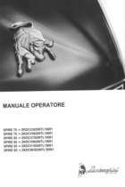 SPIRE 70 ->ZKDCU30200TL10001 - SPIRE 70 ->ZKDCV50200TL10001 - SPIRE 80 ->ZKDCU70200TL10001 - SPIRE 80 ->ZKDCV90200TL10001 - SPIRE 85 ->ZKDCV10200TL10001 - SPIRE 85 ->ZKDCW30200TL10001 - Manuale operatore