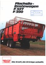 FLACHSILO-ERNTEWAGEN F 327 - F 390