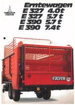 ERNTEWAGEN E 327 4,0 t - E 327 5,7 t - E 390 5,7 t - E 390 7,4 t