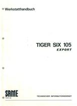 TIGER SIX 105 EXPORT - Werkstatthandbuch