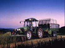 [Deutz-Fahr] trattore Agroplus 70 con falciatrice KM 3.23 FS e rimorchio K 7.36