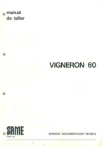 VIGNERON 60 - Manual de Taller