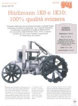 Hürlimann 1K8 e 1K10: 100% qualità svizzera