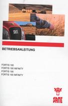 FORTIS 180 - FORTIS 180 INFINITY - FORTIS 190 - FORTIS 190 INFINITY - Betriebsanleitung