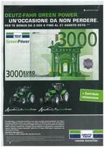 Deutz-Fahr green power. Un'occasione da non perdere.