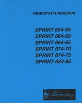 SPRINT 654-55 - SPRINT 664-60 - SPRINT 664-65 - SPRINT 674-70 - SPRINT 674-75 - SPRINT 684-85 - Werkstatthandbuch