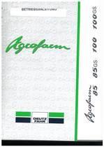 AGROFARM 85-85 GS-100-100 GS - Betriebsanleitung