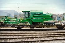 [Deutz-Fahr] trasporto Mietitrebbie M 34.80 dalla Stazione ferroviaria di Lauingen