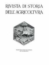 RIVISTA DI STORIA DELL'AGRICOLTURA, 1994