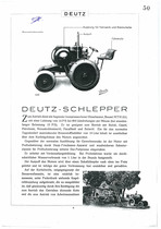 DEUTZ Schlepper MTH222
