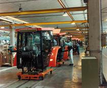 Stabilimento Same - Allestimento area montaggio cabine