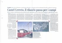 Castel Cerreto, il rilancio passa per i campi