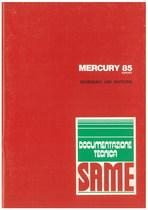 MERCURY 85 EXPORT - Bedienung und wartung