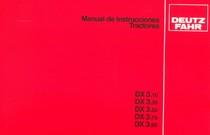 DX 3.10 - DX 3.30 - DX 3.50 - DX 3.70 - DX 3.90 - Manual de instrucciones