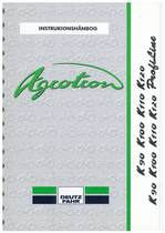 AGROTRON K 90-100-110-120 K PROFILINE - Bruger-og vedligeholdelsesvejledning
