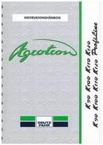 AGROTRON K 90-100-110-120 - AGROTRON K 90-100-110-120 PROFILINE - Instrukionshanbog