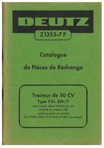 F3 L 514/7 - Catalogue de Pieces de Rechange