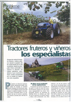 Tractores fruteros y vineros los especailistas