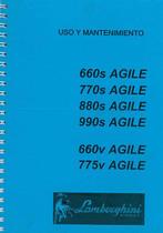 AGILE 660 - 770 - 880 - 990 S - AGILE 660 V - 775 V - Uso y Mantenimiento