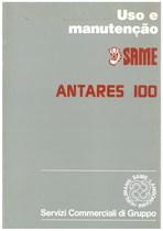 ANTARES 100 - Uso e Manutençao