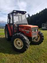 [SAME] trattore Aster 70 con voltafieno