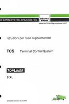 TCS TOPLINER 8 XL - Istruzioni per l'uso supplementari