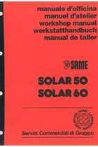 SOLAR 50 - 60 - Workshop manual