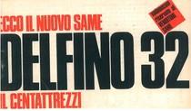 DELFINO 32 - Libretto uso & manutenzione