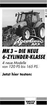 AGROTRON MK3, MK3-Die neue 6-zylinder-klasse